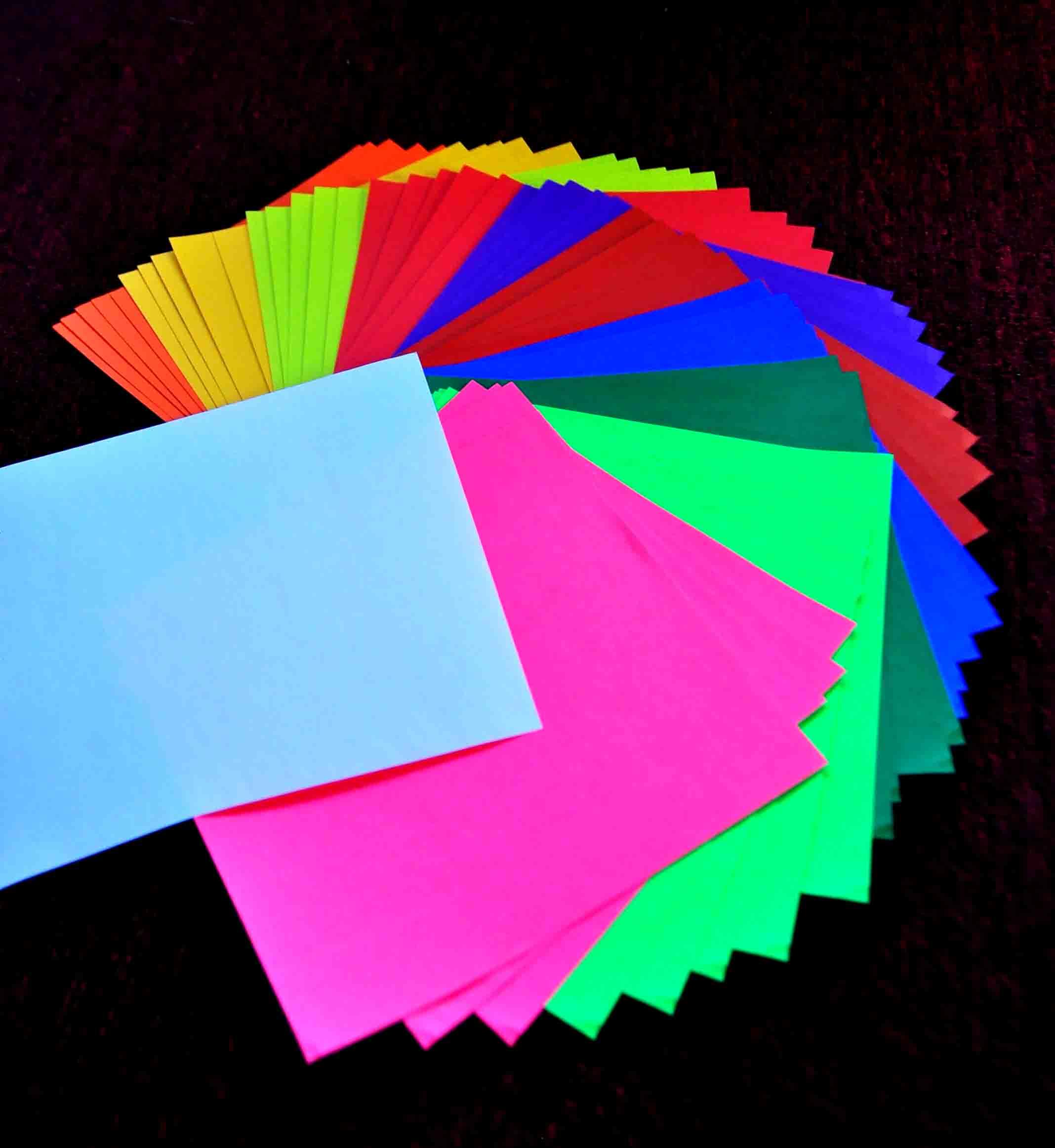 Kertas Origami berwarna 2 Layer murah di bandung | Matgami ...
